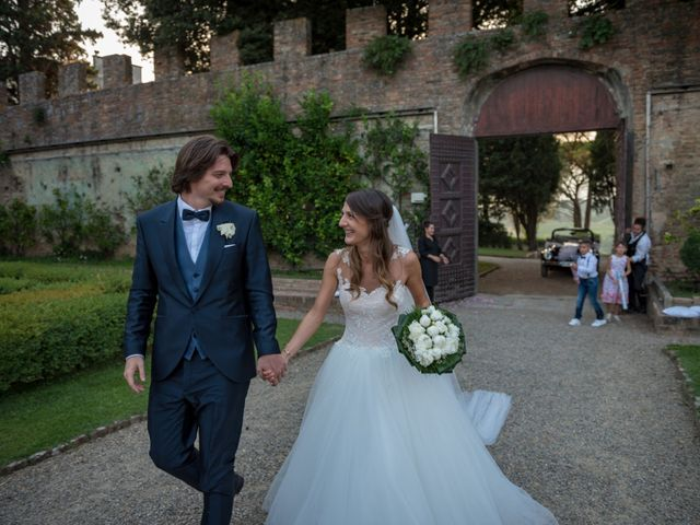 Il matrimonio di Francesco e Stefania a San Miniato, Pisa 73