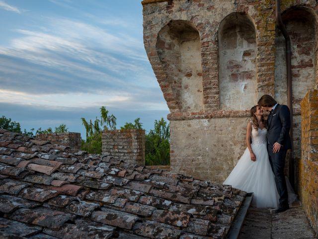 Il matrimonio di Francesco e Stefania a San Miniato, Pisa 74