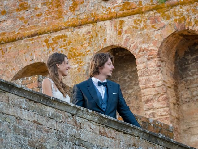 Il matrimonio di Francesco e Stefania a San Miniato, Pisa 77