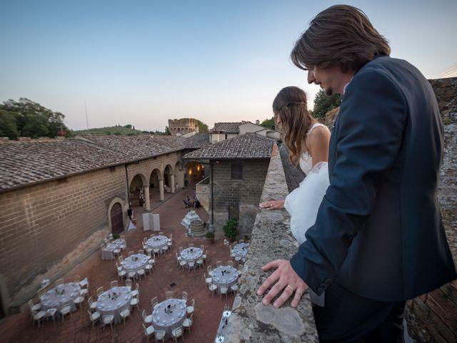 Il matrimonio di Francesco e Stefania a San Miniato, Pisa 81