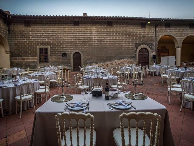 Il matrimonio di Francesco e Stefania a San Miniato, Pisa 84