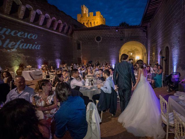 Il matrimonio di Francesco e Stefania a San Miniato, Pisa 86