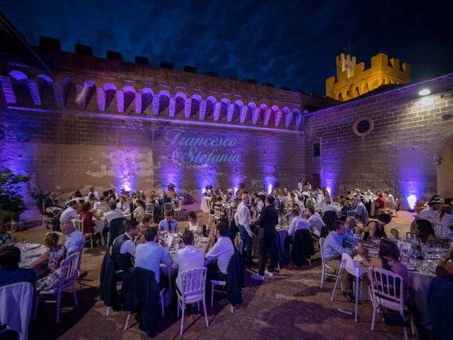 Il matrimonio di Francesco e Stefania a San Miniato, Pisa 89