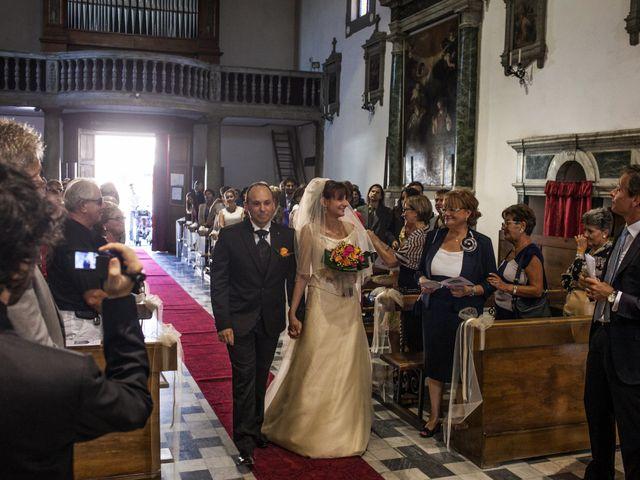 Il matrimonio di Marco e Valentina a Casciana Terme, Pisa 10