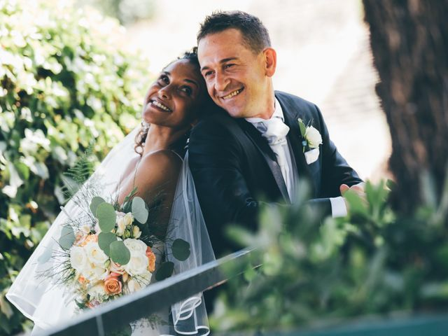 Le nozze di Jocelyne e Mirco