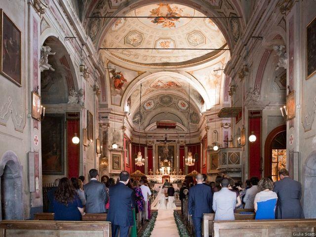 Il matrimonio di Riccardo e Chiara a Morsasco, Alessandria 70