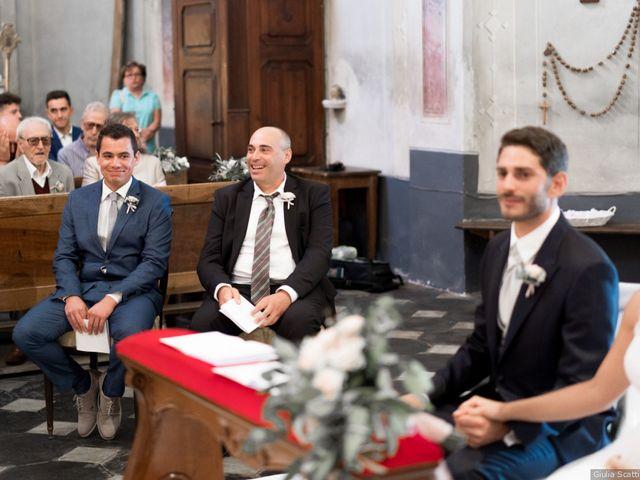 Il matrimonio di Riccardo e Chiara a Morsasco, Alessandria 84