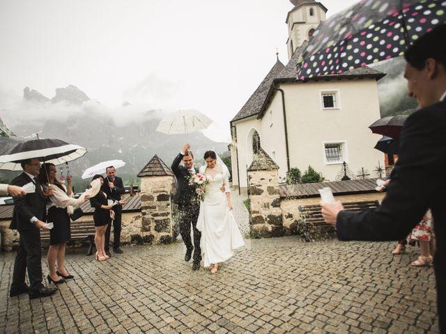 Il matrimonio di Matteo e Stefania a Corvara in Badia- Corvara, Bolzano 37