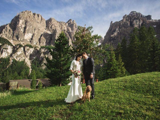 Il matrimonio di Matteo e Stefania a Corvara in Badia- Corvara, Bolzano 70