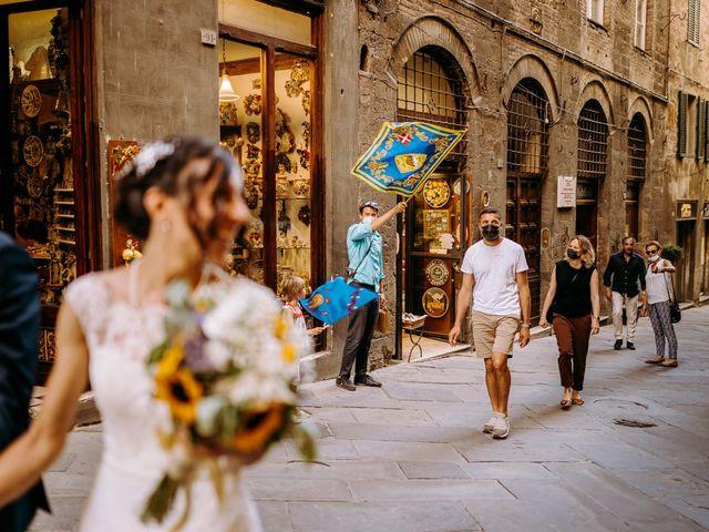 Il matrimonio di Arsenio e Serenesse a Siena, Siena 30