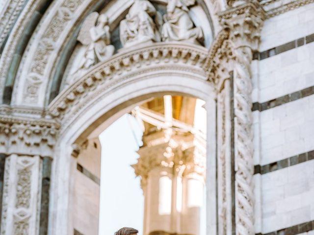 Il matrimonio di Arsenio e Serenesse a Siena, Siena 38