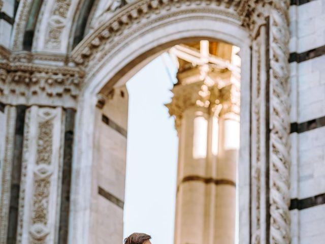 Il matrimonio di Arsenio e Serenesse a Siena, Siena 39