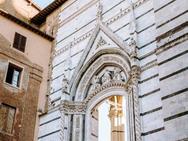 Il matrimonio di Arsenio e Serenesse a Siena, Siena 40