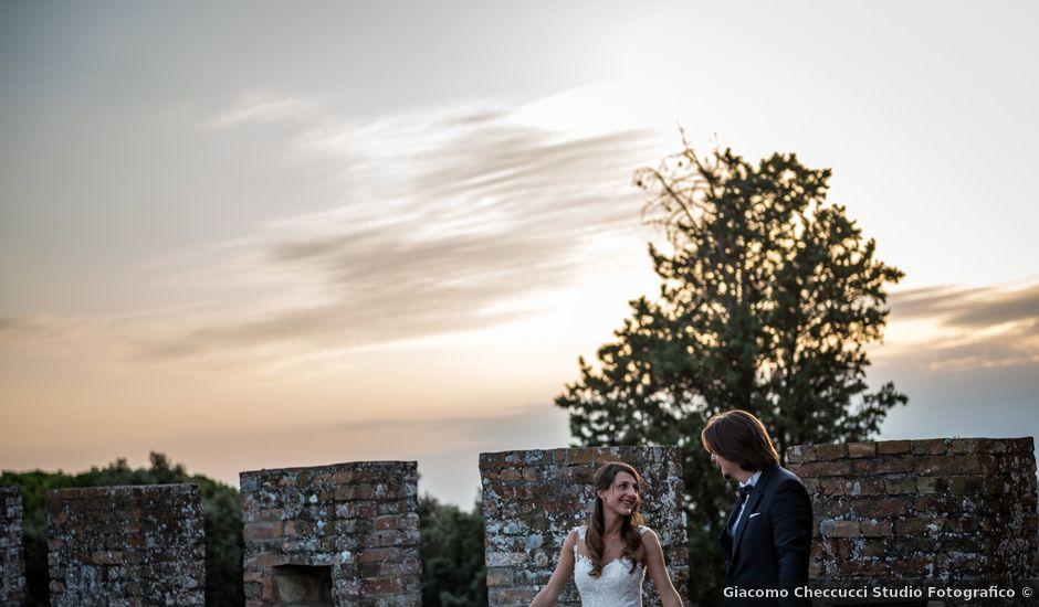 Il matrimonio di Francesco e Stefania a San Miniato, Pisa