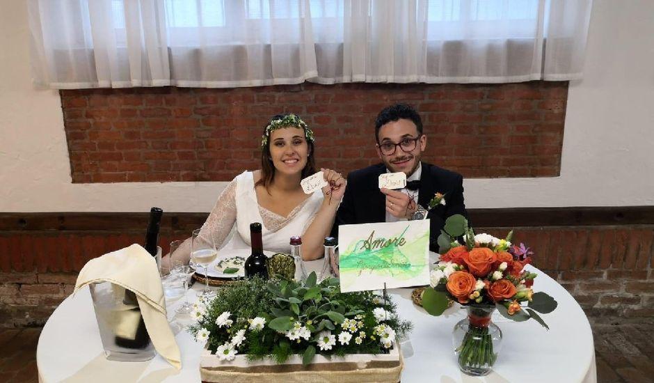 Il matrimonio di Giorgio e Denise a Spessa, Pavia