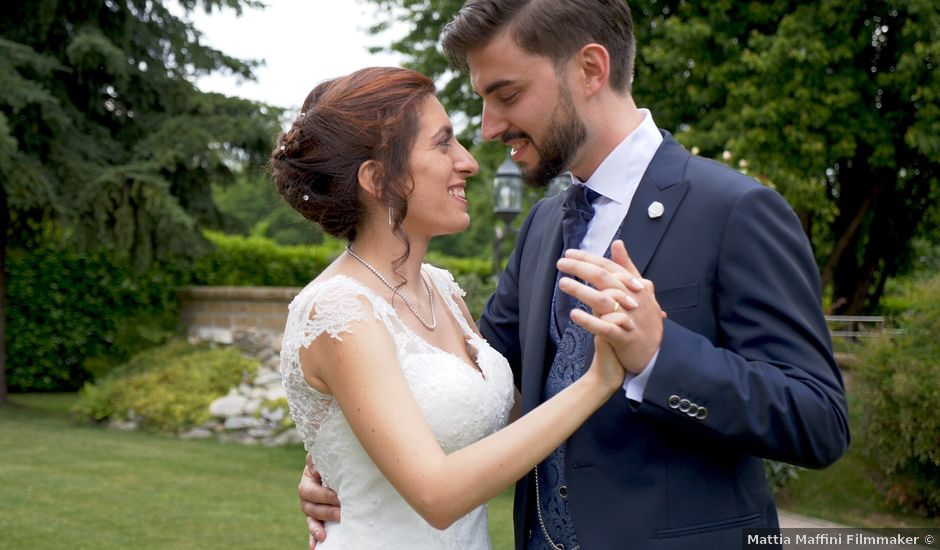 Il matrimonio di Luca e Elisa a Cameri, Novara