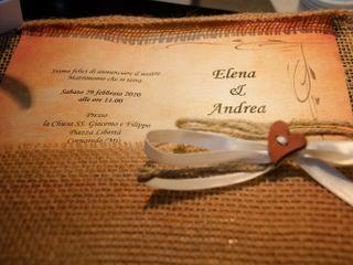 Le nozze di Elena e Andrea 1
