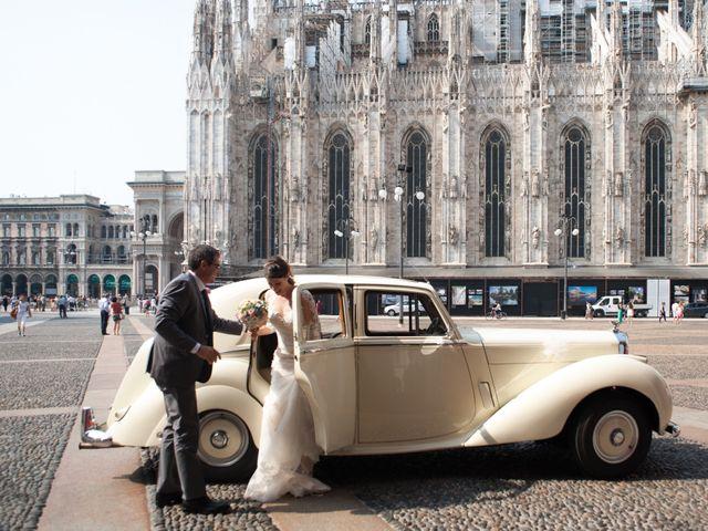Il matrimonio di Mattia e Francesca a Milano, Milano 13