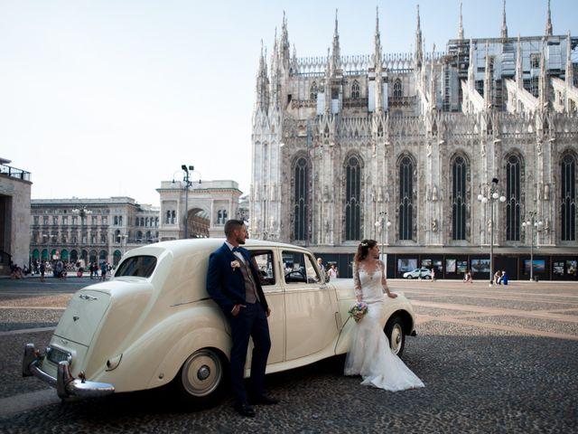 Il matrimonio di Mattia e Francesca a Milano, Milano 22