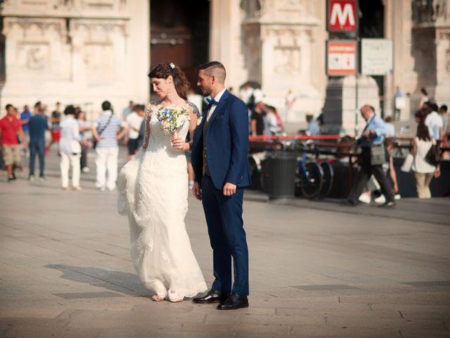 Il matrimonio di Mattia e Francesca a Milano, Milano 23
