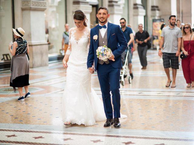 Il matrimonio di Mattia e Francesca a Milano, Milano 24