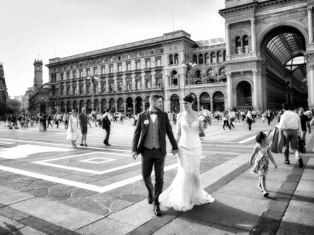 Il matrimonio di Mattia e Francesca a Milano, Milano 1