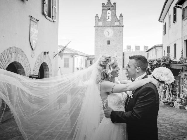 Il matrimonio di Marcello e Angelica a Gradara, Pesaro - Urbino 15