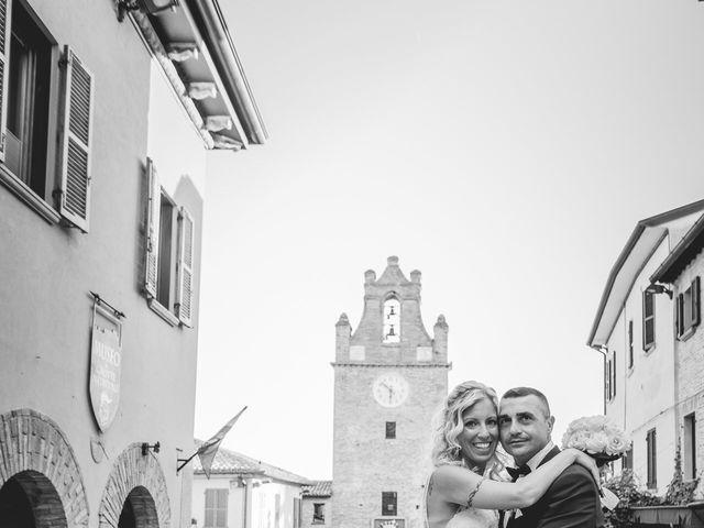 Il matrimonio di Marcello e Angelica a Gradara, Pesaro - Urbino 17