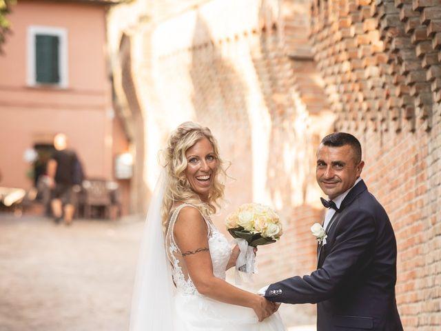 Il matrimonio di Marcello e Angelica a Gradara, Pesaro - Urbino 23
