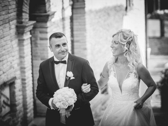 Il matrimonio di Marcello e Angelica a Gradara, Pesaro - Urbino 24