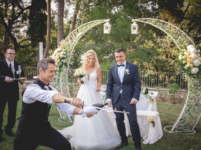 Il matrimonio di Marcello e Angelica a Gradara, Pesaro - Urbino 25