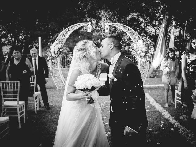 Il matrimonio di Marcello e Angelica a Gradara, Pesaro - Urbino 26