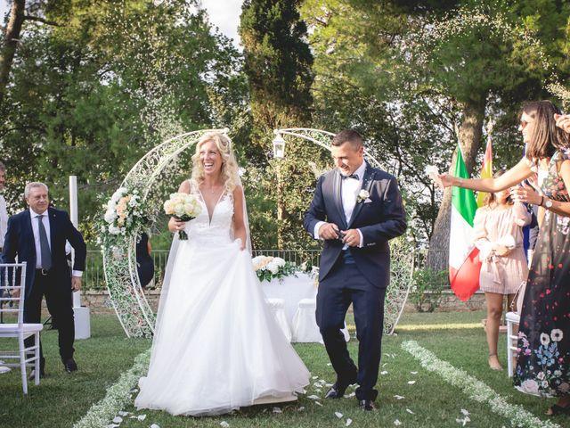 Il matrimonio di Marcello e Angelica a Gradara, Pesaro - Urbino 27