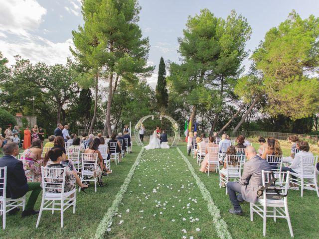 Il matrimonio di Marcello e Angelica a Gradara, Pesaro - Urbino 28