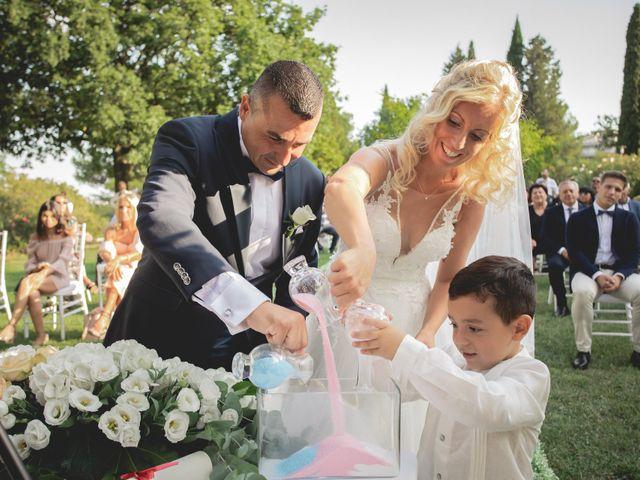 Il matrimonio di Marcello e Angelica a Gradara, Pesaro - Urbino 29