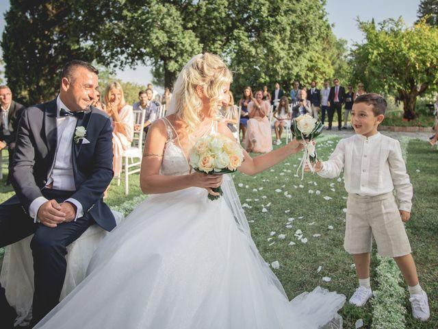Il matrimonio di Marcello e Angelica a Gradara, Pesaro - Urbino 32