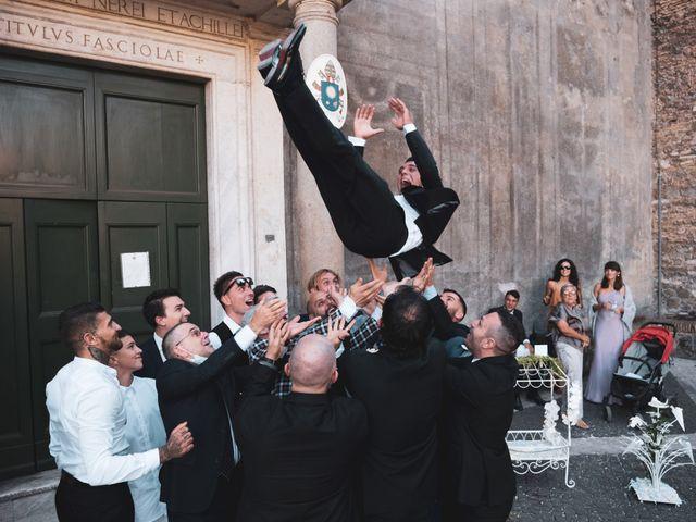 Il matrimonio di Flavia e Tommaso a Roma, Roma 50
