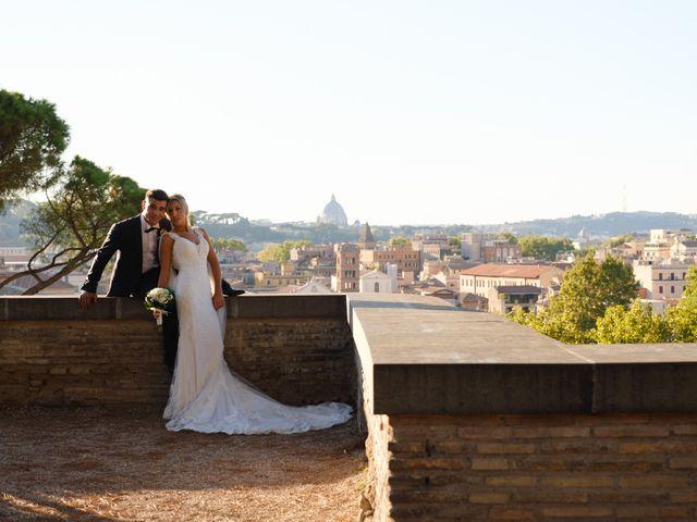 Il matrimonio di Flavia e Tommaso a Roma, Roma 56