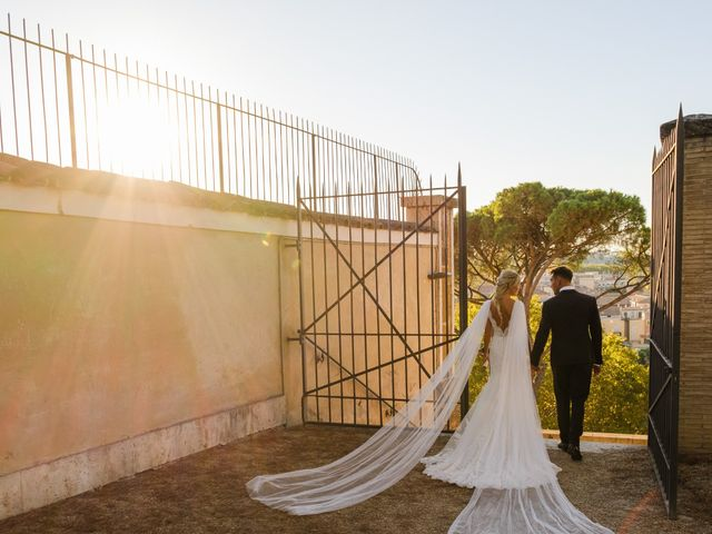 Il matrimonio di Flavia e Tommaso a Roma, Roma 57