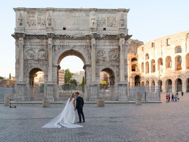 Il matrimonio di Flavia e Tommaso a Roma, Roma 62