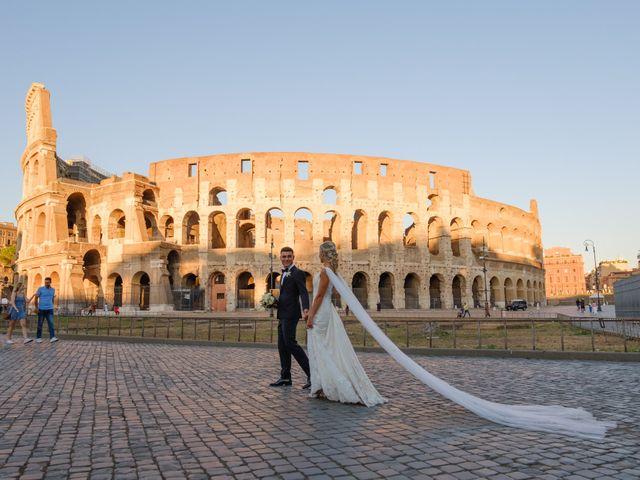 Il matrimonio di Flavia e Tommaso a Roma, Roma 63