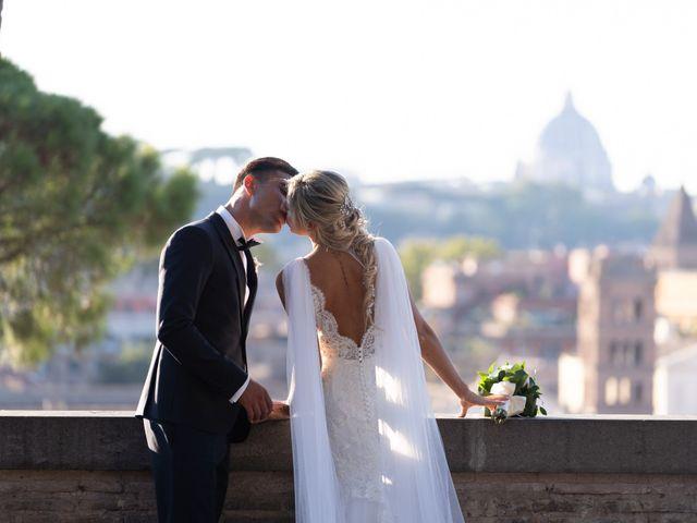 Il matrimonio di Flavia e Tommaso a Roma, Roma 72