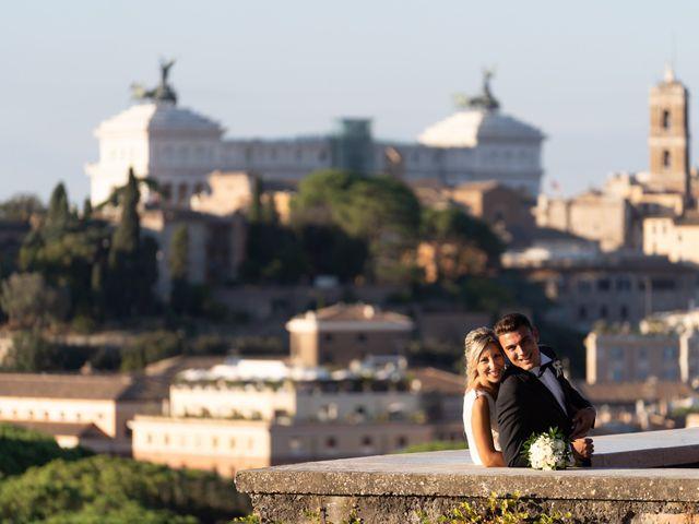 Il matrimonio di Flavia e Tommaso a Roma, Roma 74