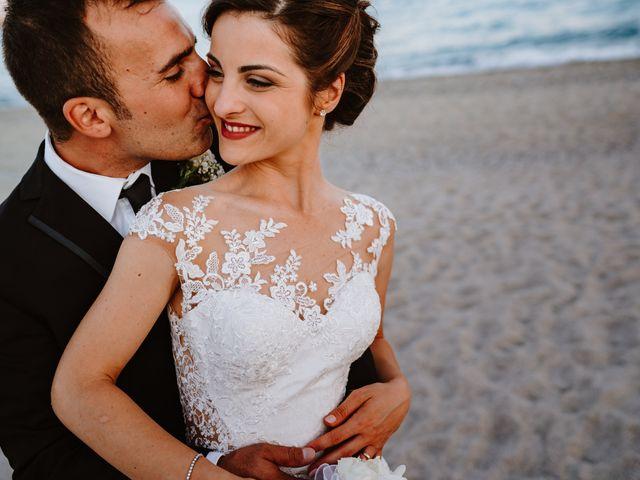 Il matrimonio di Federica e Damiano a Marina di Gioiosa Ionica, Reggio Calabria 70