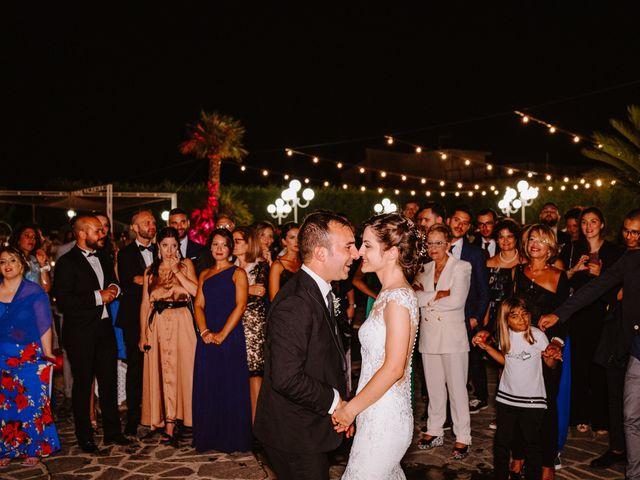 Il matrimonio di Federica e Damiano a Marina di Gioiosa Ionica, Reggio Calabria 75