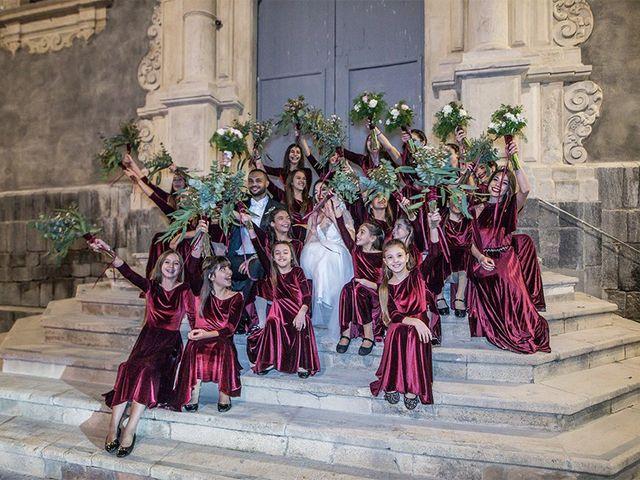 Il matrimonio di Ramona e Francesco a Catania, Catania 39