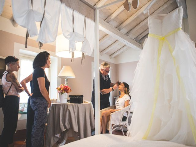 Il matrimonio di Alessandro e Silvia a Besate, Milano 19