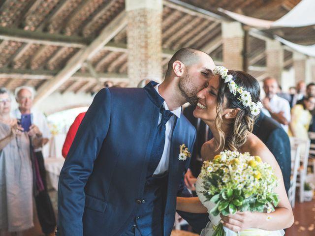 Il matrimonio di Alessandro e Silvia a Besate, Milano 33