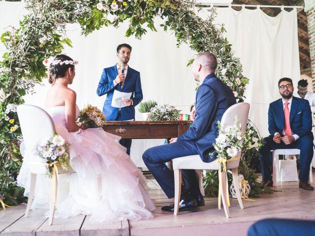 Il matrimonio di Alessandro e Silvia a Besate, Milano 35
