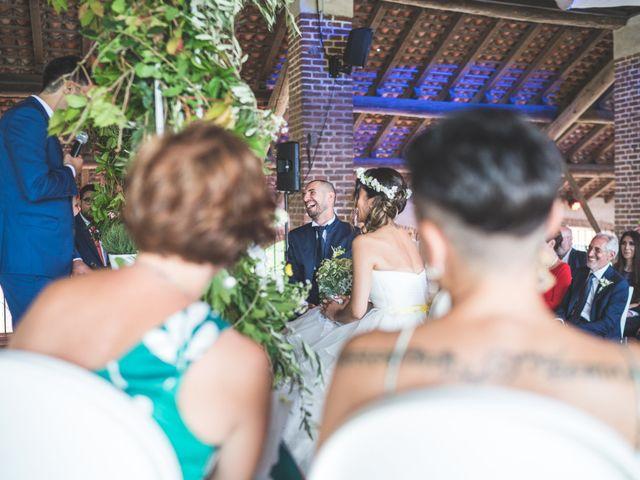 Il matrimonio di Alessandro e Silvia a Besate, Milano 36